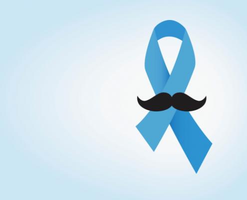 دکتر پیام آزاده متخصص رادیوتراپی انکولوژی prostate cancer ribbon and mustache 495x400 دکتر پیام آزاده  ایمونوتراپی